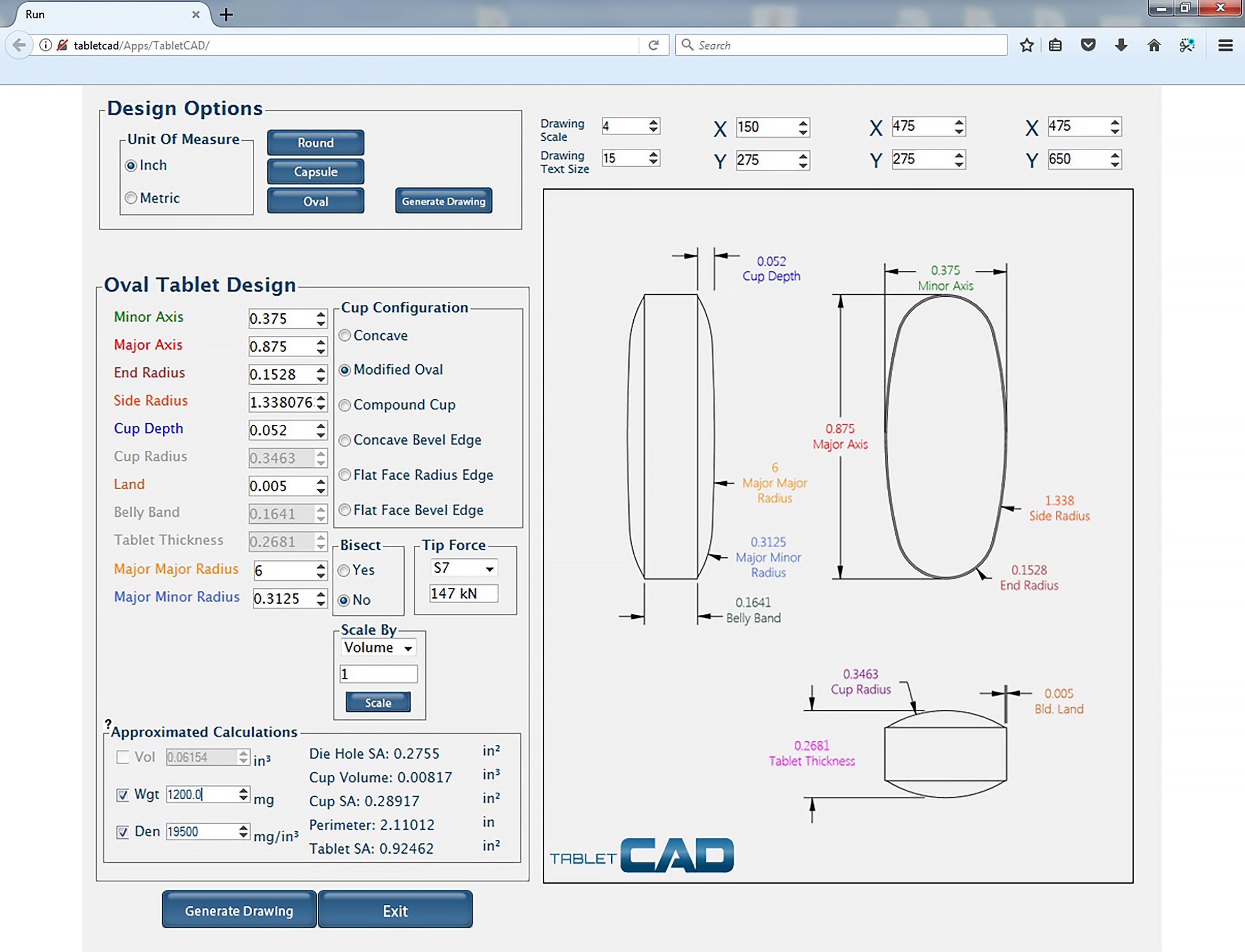 Tablet design using cad software scientist live tabletcad user interface ccuart Image collections
