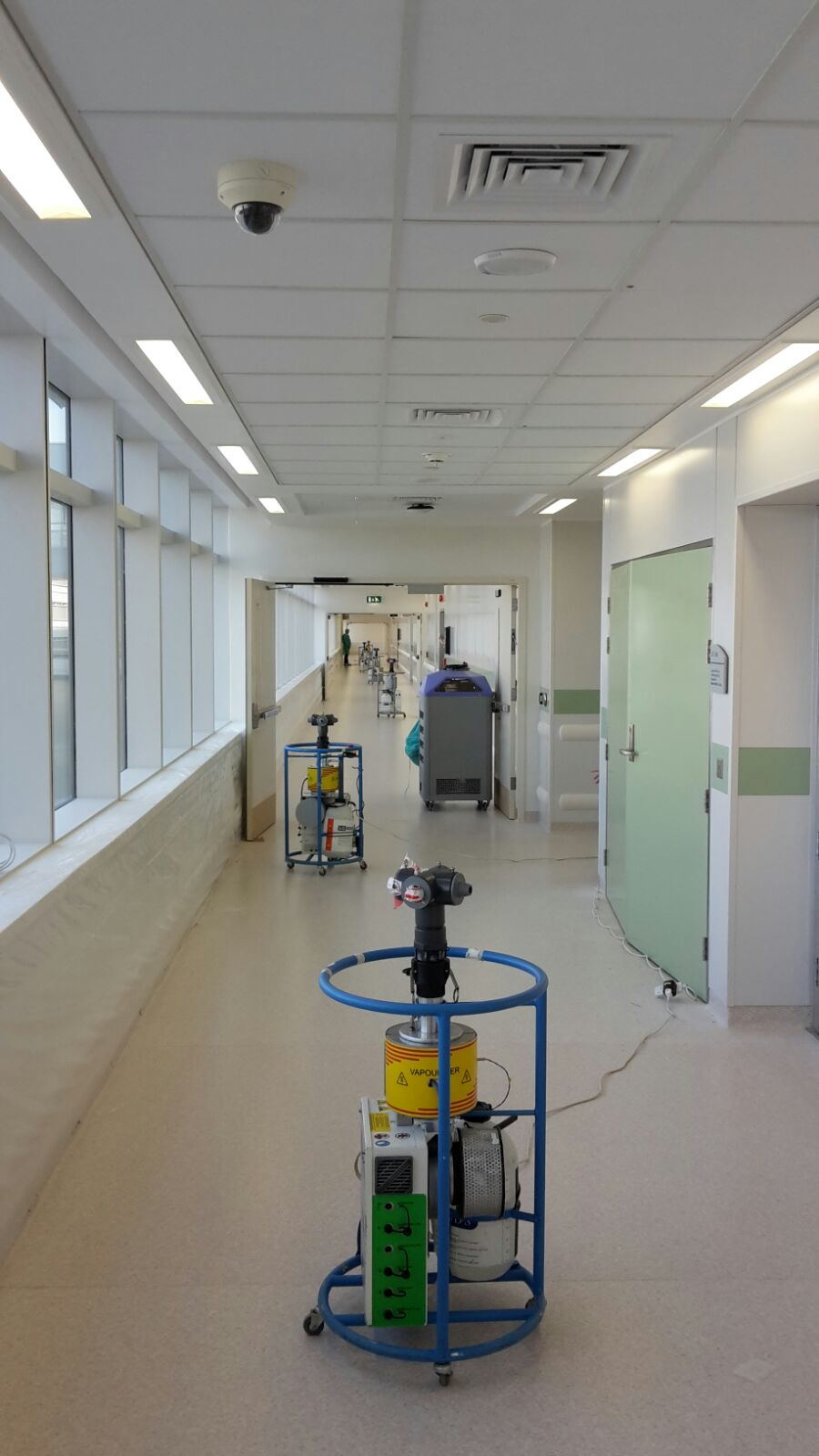 Biological decontamination of clinical areas   Scientist Live