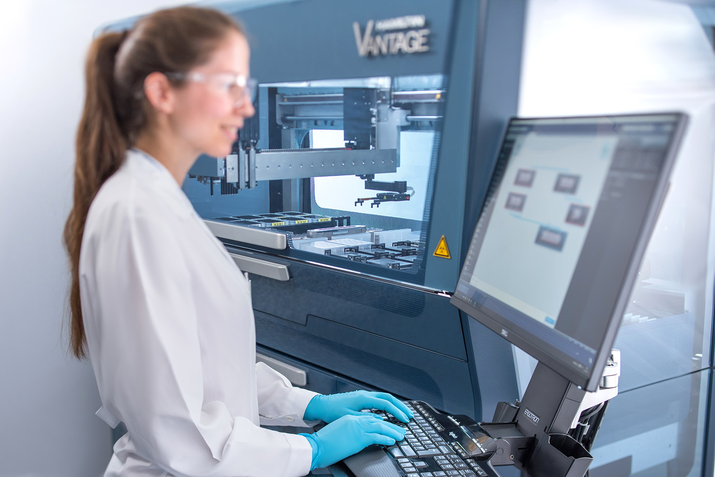 The Microlab VANTAGE - a platform equipped with the easiest possible software