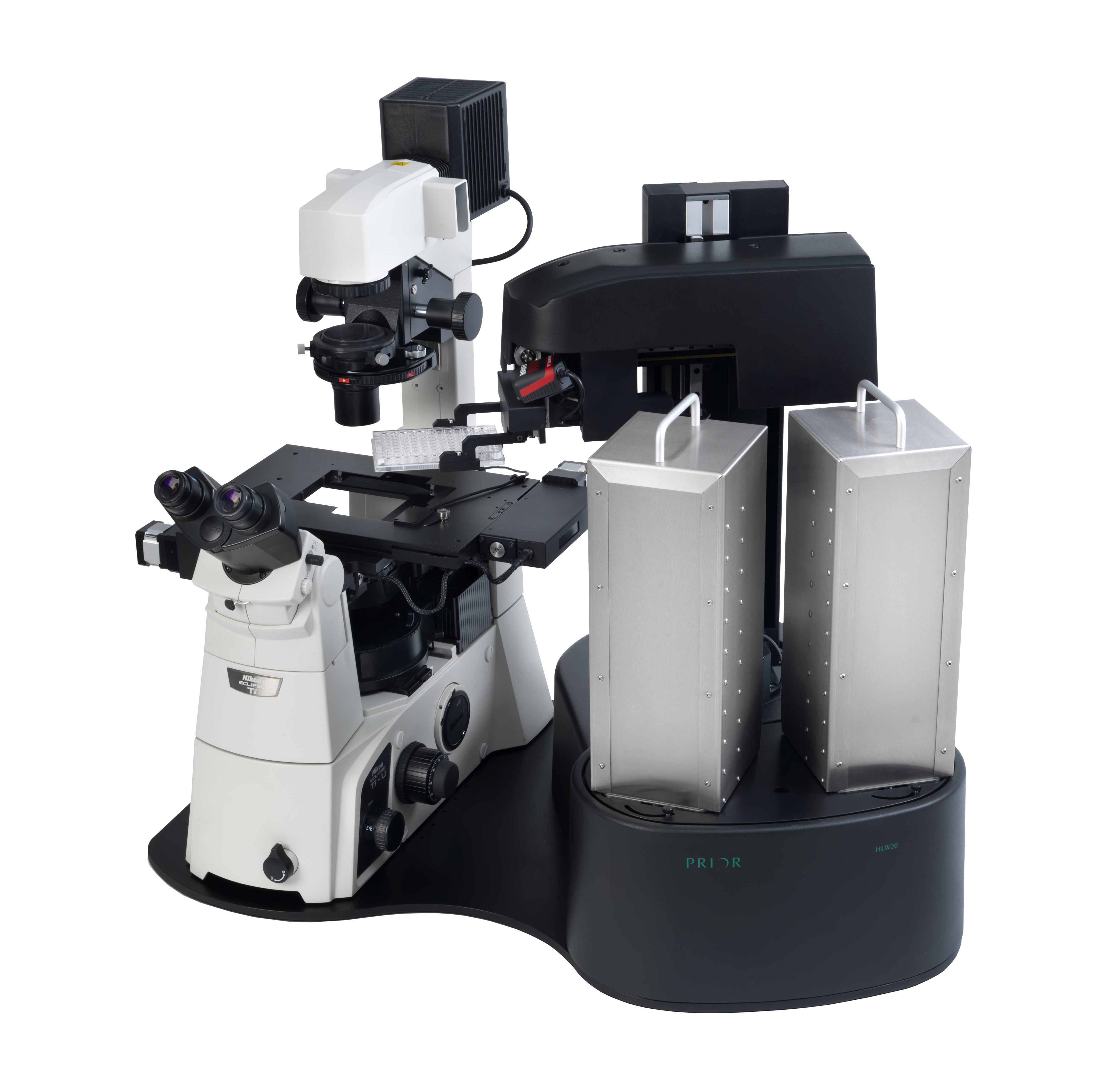 Prior offer a range of microscope components including robotic sample holders, Piezo assemblies and more