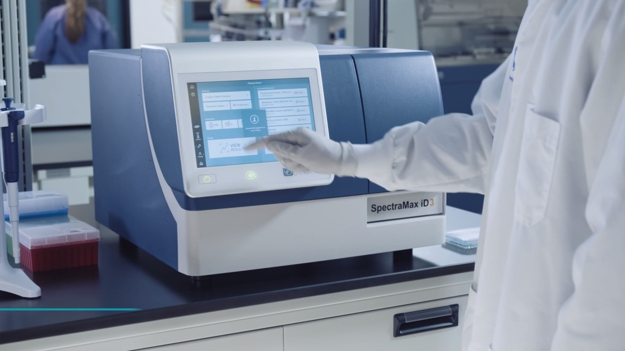 Molecular Devices SpectraMax iD3 Multi-Mode Microplate Reader