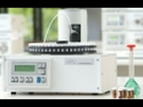 AutoQuest 100 position HPLC and IC autosampler