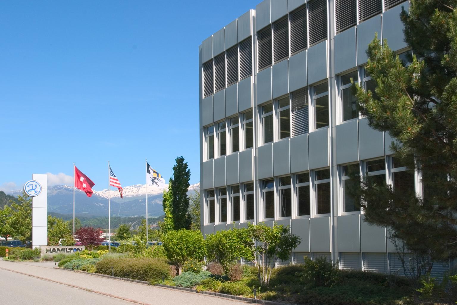 Hamilton Headquarter in Bonaduz