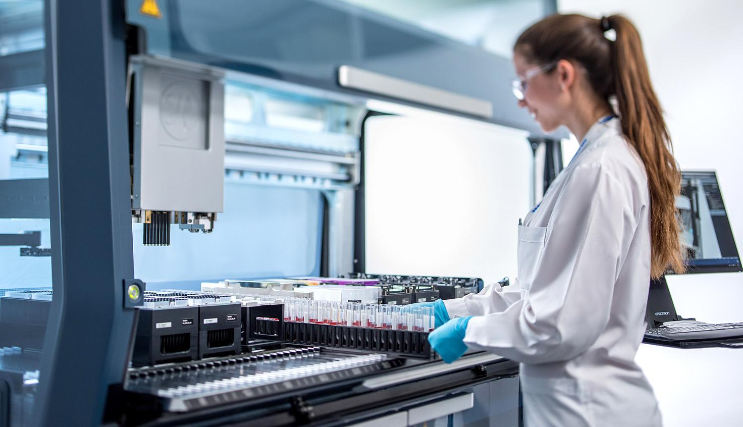 The Microlab VANTAGE - Pipetting Evolution, Logistic Revolution, Integrated Solution