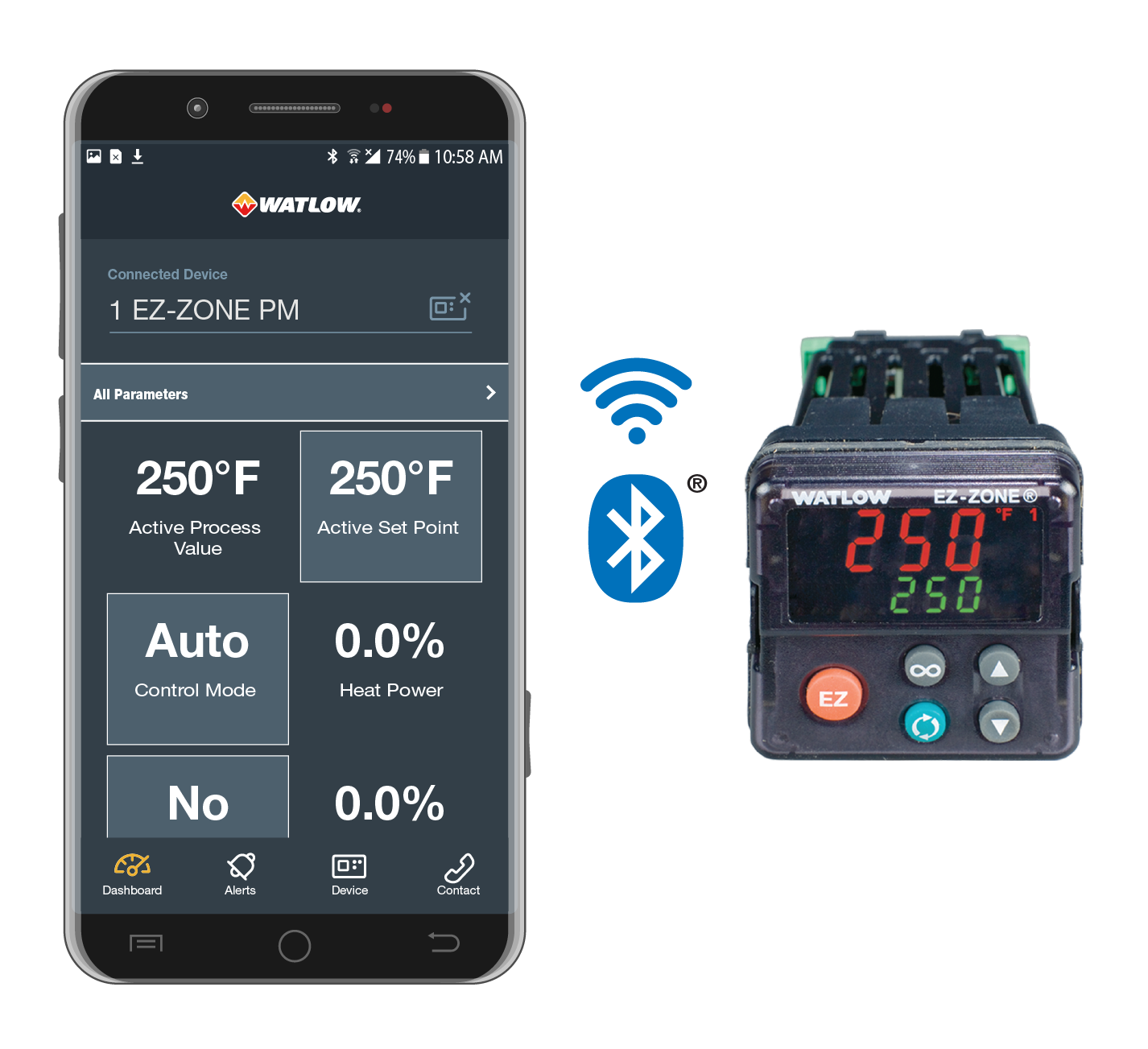 EZ Link mobile app with Bluetooth Connection