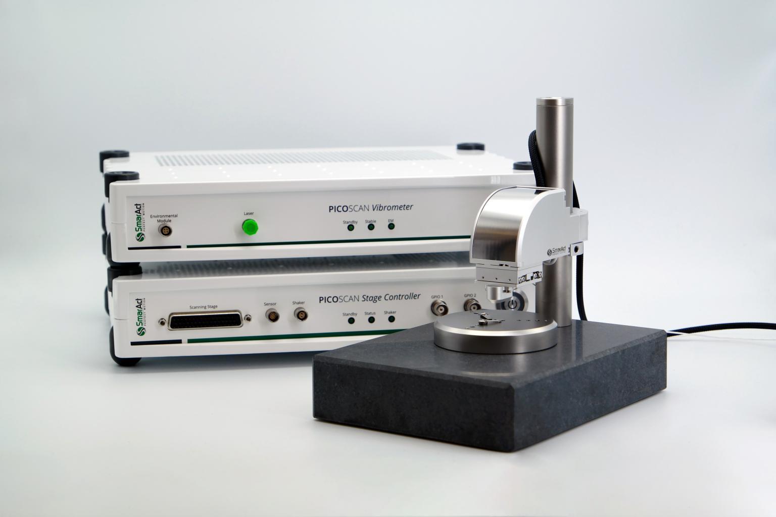 PICOSCALE Vibrometer for vibration measurement