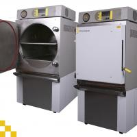 Low cost autoclaves with high throughput capacity