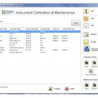 Monitoring laboratory instrument calibration