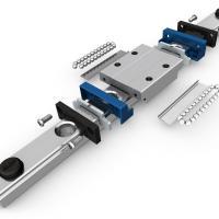 Miniature profile rail guide for laboratory automation