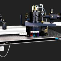 Research-grade light scattering goniometer