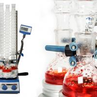 Chemistry labs benefit from condenser