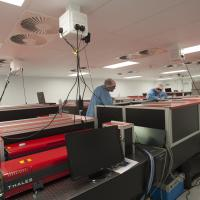 Off-axis mirrors for intense laser interaction studies
